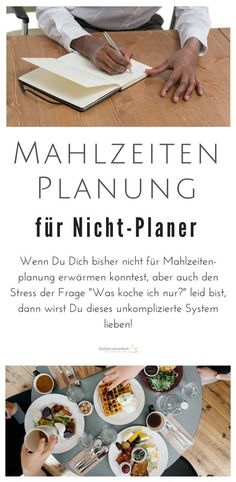 Meal planning for non-planners (with free quick fix)- Mahlzeitenplanung für Nicht-Planer (mit kostenlosem Schnellstart-Set) Meal planning for non-planners – Just make it easy With this simple system, it is very easy, complete with quick-start set! Genius Ideas, Meal Planner Template, Recipe Organization, Dinner Sets, Spice Cupcakes, Meal Planning, Meal Prep, Clean Eating, Food Porn