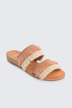 e941397ea394 Dolce Vita Fringe Sandals - Front Full Image Sandals 2018