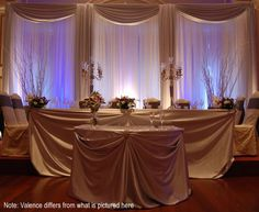 Professional Wedding Backdrop Kit w Pipe Drape Valence 3 Panel 6 Tall Wedding Reception Backdrop, Reception Decorations, Wedding Backdrops, Wedding Ideas, Wedding Draping, Wedding Receptions, Party Backdrops, Reception Party, Wedding Ceremonies