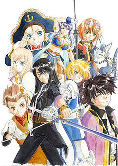 Tales of Vesperia. One of my favorite game ever