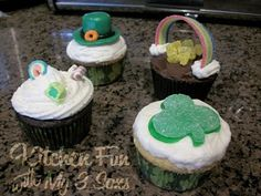 St. Patrick's Day Cupcakes