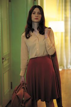 Mia Wasikowska on stoker | she's so great on this movie.