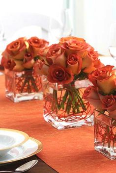 33 Stunning Fall Wedding Flowers You Will Want to Keep Forever -Fall Wedding Ideas- -Fall Wedding Inspirations- Bridal Bouquet Fall, Fall Wedding Bouquets, Fall Wedding Flowers, Orange Wedding, Wedding Reception Decorations, Wedding Themes, Wedding Ideas, Bridal Bouquets, Wedding Stuff