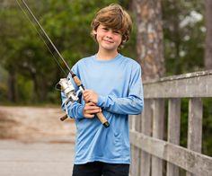 Youth FieldTec Fishing Team Shirt - Long Sleeve