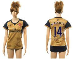 http://www.xjersey.com/201516-arsenal-14-walcott-away-women-jersey.html Only$35.00 2015-16 ARSENAL 14 WALCOTT AWAY WOMEN JERSEY Free Shipping!