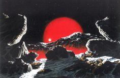 """""""Mira Ceti"""" by Steve R. Dodd, 1980s."""