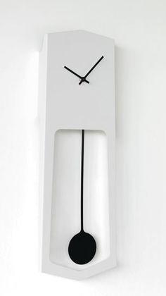 Grande horloge murale industrielle d 73 5 cm de l for Pendules murales decoratives