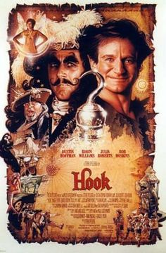 Hook movie poster. Easily one of my all-time favorite movies!!