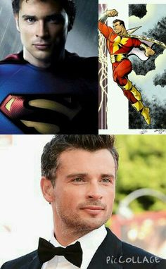 Tom Welling Smallville...cast as Shazam?  What you think