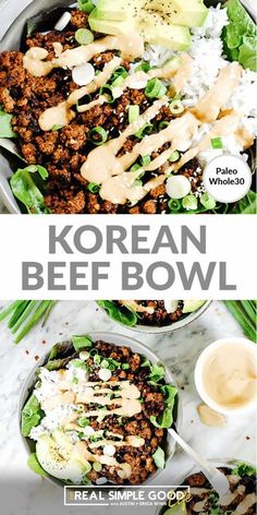 Healthy Meal Prep, Healthy Eating, Healthy Dinners For Families, Easy Healthy Weeknight Dinners, Simple Healthy Dinner Recipes, Simple Healthy Recipes, Healthy Korean Recipes, Healthy Dinner For One, Healthy Chinese