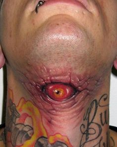21 Terrifying Tattoos To Freak You Out | Break.com
