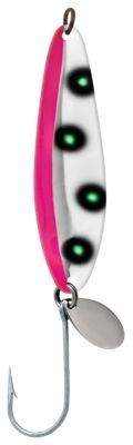 Luhr Jensen Coyote Spoon - Flo Pink/Chartreuse UV - 3-1/2''