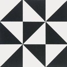 Gloucester – Mönsterplattor - Victorian Floor Tiles klinker: Byggfabriken – modern byggnadsvård