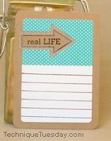 Real Life Arrow Card