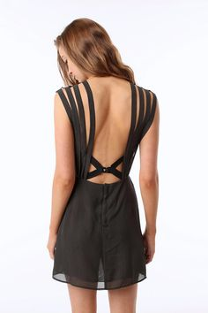 Double in Brass by The Lake & Stars Chiffon Strappy Slip $68