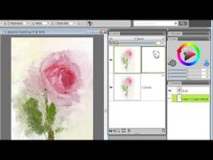 "Video 1 in a series of 4 describing ""Beyond Painting"" with Corel Painter X3"