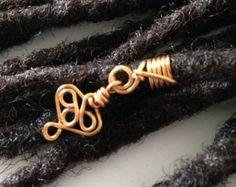 Dreadlock Braid Twist Hair Bead Dread Locs by LovableTreasures Dreadlock Beads, Dread Beads, Hair Beads, Hair Jewels, Crown Jewels, Dreadlock Accessories, Hair Accessories, Loc Jewelry, Hair Jewellery