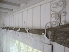 old oar and white drapes Home Spa Room, Spa Rooms, Lakeside Cottage, Hanging Curtains, Cottage Style, Saunas, Diy Home Decor, Interior Decorating, Design