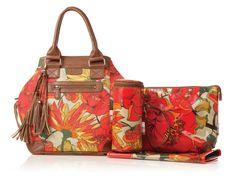 Set 4 piezas bolso Isoki modelo Vintage Blaze colección Bucket Bag