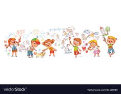 Boy And Girl Drawing, Girl Drawing Pictures, Pictures To Draw, Drawing For Kids, Funny Cartoon Characters, Funny Cartoons, Vintage Flowers Wallpaper, Funny People Pictures, Happy Birthday Funny