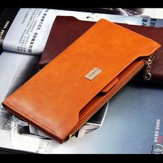 2013 NEW fashion leather long wallets women wallet ladies' purse bag handbag card pack WBG0515-in Wallets from Luggage & Bags on Aliexpress.com | Alibaba Group Leather Clutch, Leather Purses, Pu Leather, Leather Wallets, Leather Bags, Top Fashion, Fashion Women, Bags Travel, New Fashion