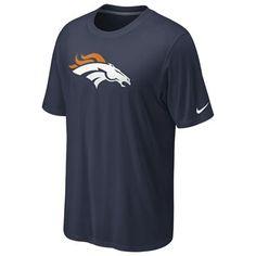 Denver Broncos Nike Legend Logo T-Shirt (Navy)