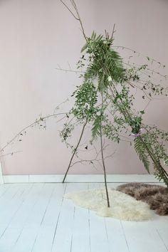 carpa con ramas