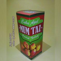 Cuka apel mumtaz  Yg terbaik dari jenis cuka apel Kaya akan manfaat dan nutrisi ..