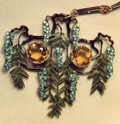 René Lalique Gepind door: www.sieradenschilderijenatelierjose.com