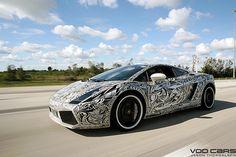 Sharpie Lamborghini