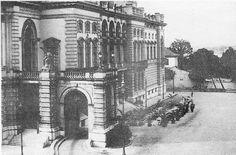 1920 - Bar do Municipal (lado direito externo ao teatro) visto a partir do Teatro São José.