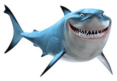 Bruce is a great white shark in Finding Nemo. He is the leader of the Fish-Friendly Sharks support group. Bruce is a kind and pleasant shark. He is also shown to be jolly, laid-back, and a jokester. He is also honest and well meaning. However, his personality changes when his instincts start to kick in, and this makes him turn into a mindless, fish-eating shark (temporarily).