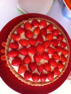 Torta de morango( Kelly )