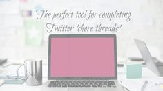 The Amazing Twitter Chore Thread Tool You Need To Have ~ Your Virtual Assistant Service