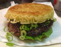 ramen burger - Smorgasburg - Brooklyn. want. need. drool.