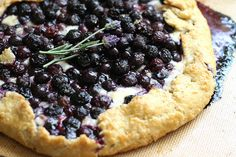 Blueberry Brie Gallette