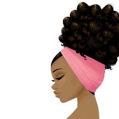 No photo description available. Natural Hair Art, Pelo Natural, Natural Hair Styles, Black Art Painting, Black Artwork, Black Love Art, Black Girl Art, Black Girls, African American Art