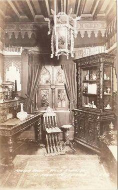 Interior prayer room  Villa Zorayda  St. Augustine