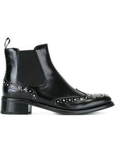 'Estella' studded Chelsea boots