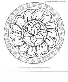 mandala to color -IMAGIXS