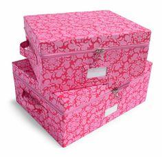 Storage Basement Storage, Pretty Box, Non Profit, Storage Boxes, Organization Hacks, Clutter, Decorative Boxes, Best Deals, Home Decor