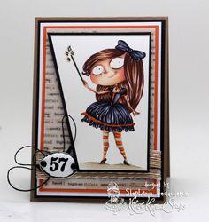 A World of Creative Possibilities: Kraftin' Kimmie Stamps : Halloweennnnnnn challenge!