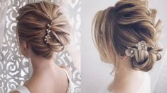 Elegant Prom Updo Hairstyles For Short Hair - YouTube