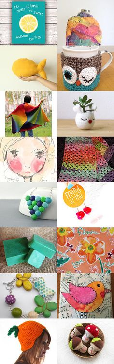We love colors 2 !!! by Ivana Nikolic on Etsy--Pinned with TreasuryPin.com