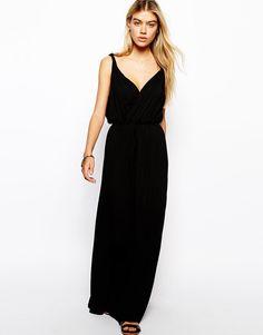 ASOS | ASOS Maxi Dress with Grecian Wrap at ASOS