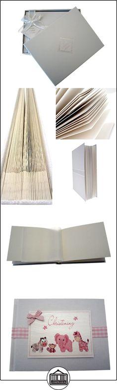 White Cotton Cards-Álbum de fotos para el Bautizo, pequeño, color rosa  ✿ Regalos para recién nacidos - Bebes ✿ ▬► Ver oferta: http://comprar.io/goto/B00DQSPV5W