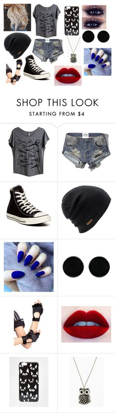 """""""Temari"""" by ayumi-uchiha ❤ liked on Polyvore featuring Mad Love, Abercrombie & Fitch, Converse, Coal, AeraVida, Leg Avenue and ASOS"""