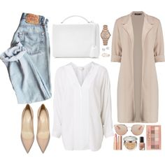 A fashion look from September 2017 featuring Witchery blouses, Boohoo coats and Mark Cross shoulder bags. Browse and shop related looks.