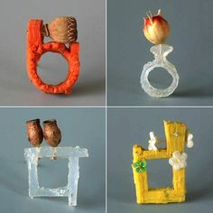 TheCarrotbox.com modern jewellery blog : obsessed with rings // feed your fingers!: Schmuck Designerin (Tamara Grüner) / Melanie Honor Clarke
