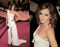 Emma Watson at the 2010 Met Gala